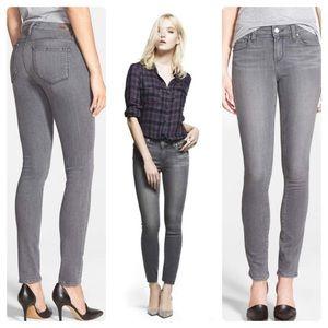 Paige Verdugo Ultra Skinny Gray Jeans Sz 27